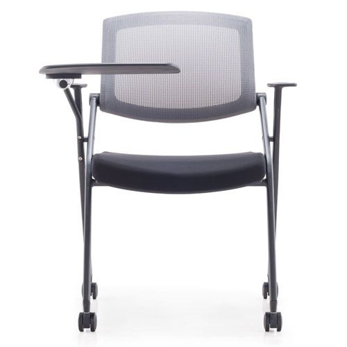Officeintrend เก้าอี้สำนักงาน รุ่น Do lecture chair with tablet and castors สีดำ