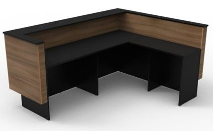 Officeintrend โต๊ะเคาน์เตอร์ Counter CT005L_ 2200x724x1050-1700x560x1050 (no drawer)