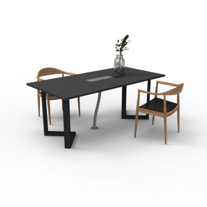 โต๊ะประชุมOfficeintrend 4-6ที่นั่ง รุ่นMTSy-V1809073  ขา sync-V